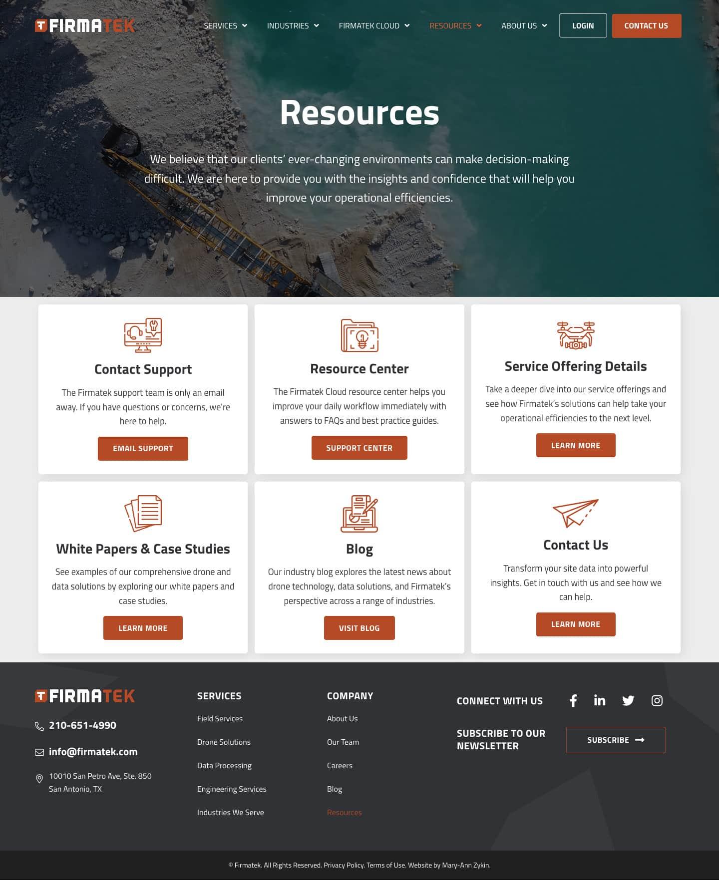 Firmatek Resources Page