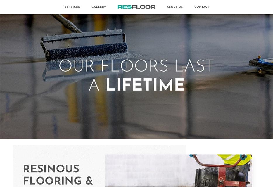 Resfloor Website